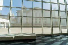 Wewnętrzny widok piękny Crocker muzeum sztuki Zdjęcie Stock