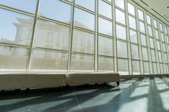 Wewnętrzny widok piękny Crocker muzeum sztuki Obrazy Royalty Free