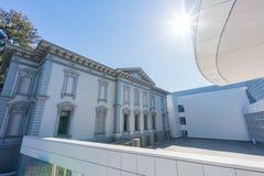 Wewnętrzny widok piękny Crocker muzeum sztuki Obraz Royalty Free
