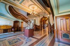 Wewnętrzny widok piękny Crocker muzeum sztuki Zdjęcie Royalty Free