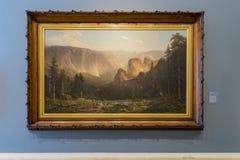 Wewnętrzny widok piękny Crocker muzeum sztuki Obrazy Stock
