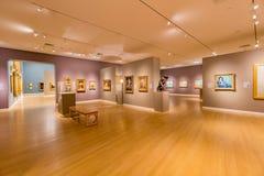 Wewnętrzny widok piękny Crocker muzeum sztuki Obraz Stock