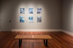Wewnętrzny widok piękny Ogden muzeum Zdjęcia Royalty Free