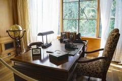 Wewnętrzny widok sławny Boddy dom w Descanso ogródzie zdjęcie stock