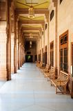 Wewnętrzny widok Umaid Bhawan pałac Rajasthan Zdjęcia Royalty Free