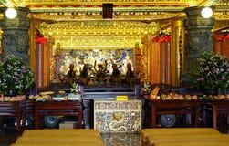 Wewnętrzny widok Ziemskiego bóg świątynia Zdjęcia Royalty Free