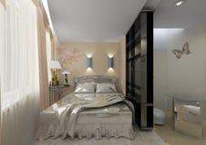 wewnętrznych styl życia mieszkaniowy pokój Fotografia Royalty Free