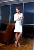 wewnętrzna biurowa kobieta Zdjęcie Royalty Free