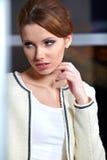 wewnętrzna biurowa kobieta Fotografia Stock