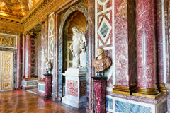 Wewnętrzna górska chata Versailles Obrazy Stock