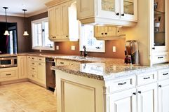 wewnętrzna kuchnia Obraz Royalty Free