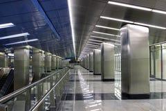Wewnętrzna Moskwa stacja metru  Zdjęcia Royalty Free