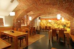wewnętrzna restauracja Obrazy Stock