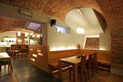 wewnętrzna restauracja Fotografia Stock