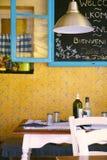 wewnętrzna restauracja Zdjęcia Stock