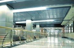 wewnętrzna stacja metru Zdjęcia Stock