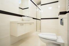 wewnętrzna toaleta Zdjęcia Royalty Free