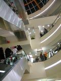 wewnętrzne centrum handlowe Fotografia Stock