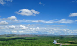 wewnętrzni mongolian nieba bagna Fotografia Royalty Free