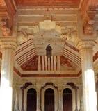 Wewnętrzny Amer fort, Jaipur Fotografia Stock