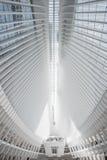 Wewnętrzny atrium Oculus Nowy Jork Zdjęcia Royalty Free