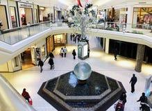 wewnętrzny centrum handlowe Obraz Royalty Free