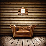 wewnętrzny izbowy rocznik Fotografia Royalty Free
