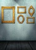 wewnętrzny izbowy rocznik Zdjęcia Royalty Free