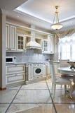 wewnętrzny kuchenny luksus Fotografia Stock