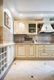 wewnętrzny kuchenny nowy Zdjęcie Royalty Free