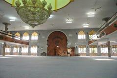 Wewnętrzny Kuching Grodzki meczet a K masjid Bandaraya Kuching w Sarawak, Malezja Zdjęcie Stock