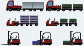 wewnętrzny logistic3 Obrazy Royalty Free