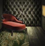 wewnętrzny luksusowy retro pokój Zdjęcie Royalty Free
