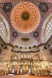 wewnętrzny meczetowy suleymaniye Zdjęcia Royalty Free