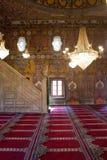 wewnętrzny meczetu Obrazy Royalty Free