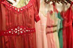 wewnętrzny moda sklep Zdjęcie Royalty Free