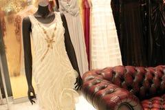 wewnętrzny moda sklep Obrazy Royalty Free