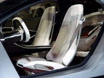 wewnętrzny nowoczesny samochód zdjęcia royalty free