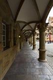Wewnętrzny podwórze Starego kasztelu 10th wiek Zdjęcie Royalty Free