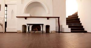 Wewnętrzny pokój w starym budynku Obrazy Royalty Free