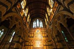 Wewnętrzny projekt anglikanina St Paul Katedralny Melbourne Obrazy Royalty Free