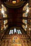 Wewnętrzny projekt anglikanina St Paul Katedralny Melbourne Zdjęcia Royalty Free