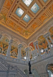 wewnętrzny rich biblioteczny cong Obraz Royalty Free