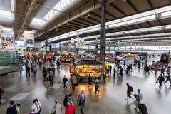 Wewnętrzny widok Monachium magistrali stacja kolejowa Fotografia Stock