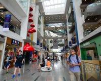 Wewnętrzny widoku Marina kwadrata zakupy centrum handlowe Fotografia Royalty Free
