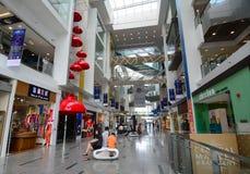 Wewnętrzny widoku Marina kwadrata zakupy centrum handlowe Obraz Royalty Free