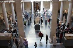 wewnętrzny wielkomiejski muzeum Obrazy Royalty Free