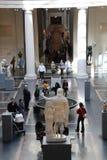 wewnętrzny wielkomiejski muzeum Obraz Royalty Free