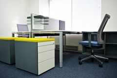 wewnętrzny biuro Obraz Royalty Free