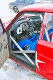 Wewnętrzny sporta samochód Obrazy Royalty Free